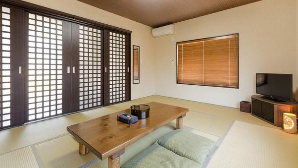 <本館1F>モダンな雰囲気の和室10畳 バス・トイレ共同