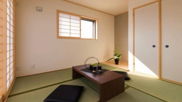 <竹ハリエ>体験の和室2間続き18畳 トイレ付き