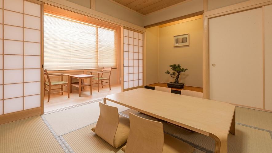 ・<別館和室>琵琶湖で遊び疲れた体も畳の上でリフレッシュ