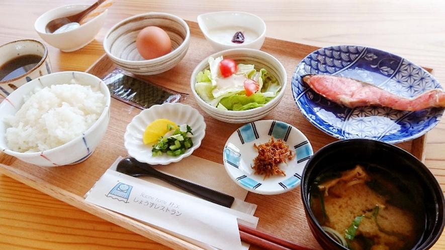 ・<朝食>黄身がプリプリの卵がついたおいしい朝食をご用意しております