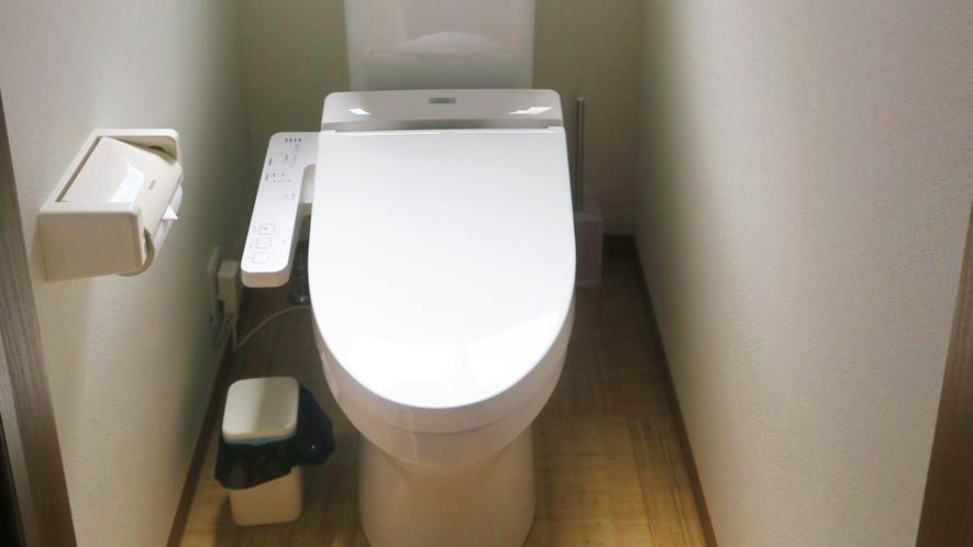 ・<トイレ>ウォシュレット付トイレをご用意しております