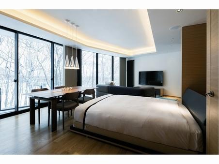 1ベッドルーム+収納式ダブル【83平米】2〜4名様