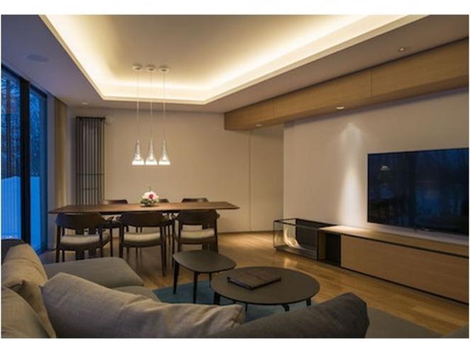 アパートメント・リビングルーム(K101)