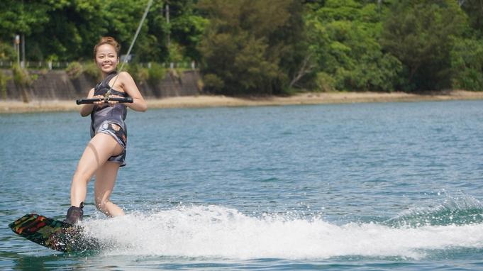 沖縄の海を満喫!ホテルから出発できるウェイクボード付き♪【素泊り】