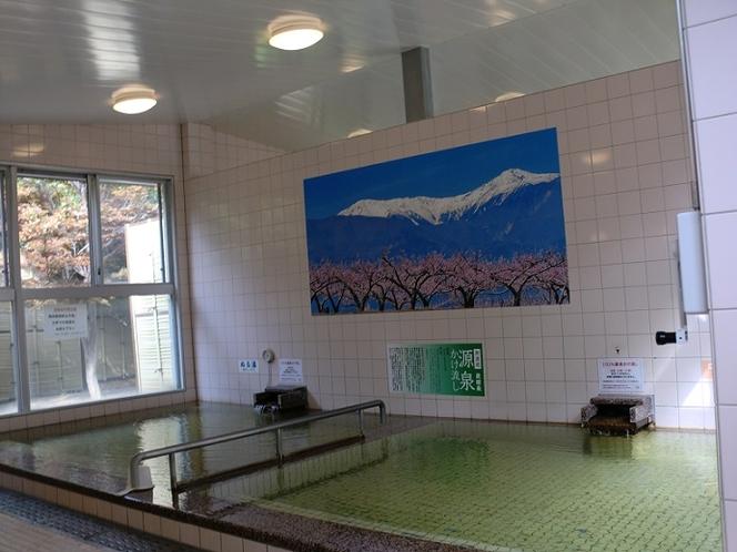 男性浴室(中温・低温風呂)