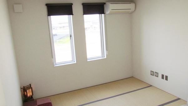 和室(個室鍵付)素泊り安心安価、お洒落でモダン、清潔