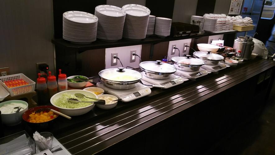 朝食バイキングレーン