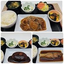 夕食(一例)※御前・鍋・麺のセットから選べます