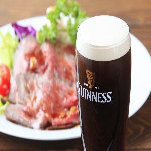 ☆黒ビールとローストビーフ