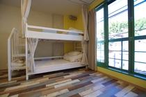 二段ベッドのお部屋