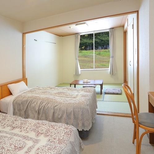 ツインルーム+和室