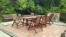 庭園BBQスペース