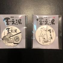 旅館玉之湯オリジナル『缶マグネット』