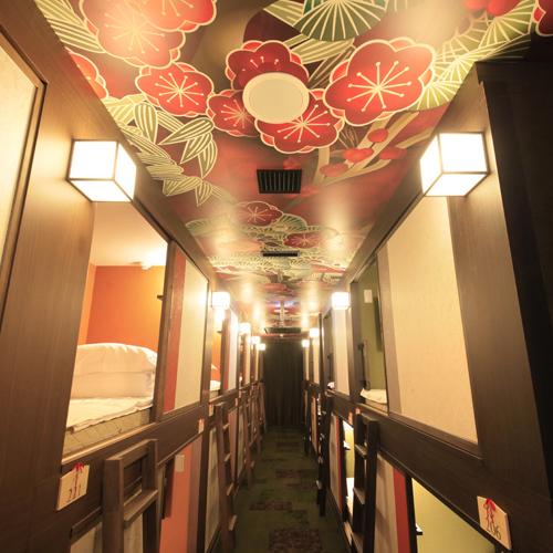 ◆スタンダードキャビン◆シングルベッド(90cm幅) 1名用