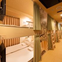 ◆コネクティングキャビン◆シングルベッド(90cm幅)×2 1~2名用