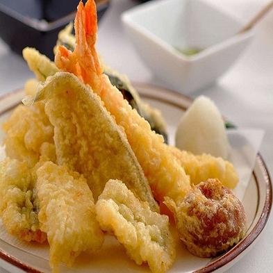 【2食付】職人技が活きる!揚げたて天ぷらとお寿司が食べ放題♪朝夕バイキングプラン