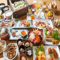 ◆朝食 イメージ(感染症対策の為小鉢にて提供)