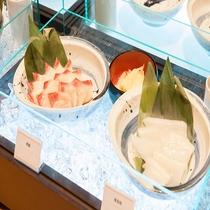 ◆朝食 海鮮丼