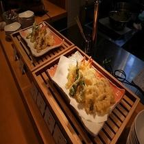 ◆夕食バイキング 天ぷら◆