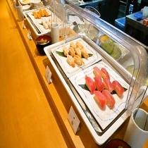 ■夕食:握寿司