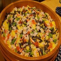 ◆夕食バイキング ちらし寿司◆