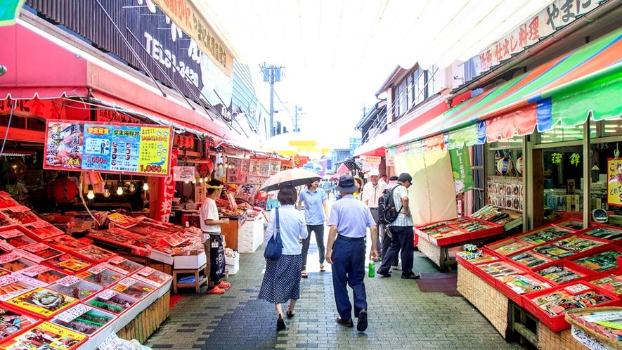 東尋坊 商店街