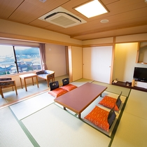 和室10畳(街側/海は見えません)☆禁煙