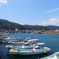 【周辺】茂木市の漁師の風景。新鮮な海の幸の宝庫!