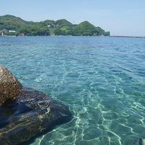 【景観】館内からの綺麗な海が一望☆