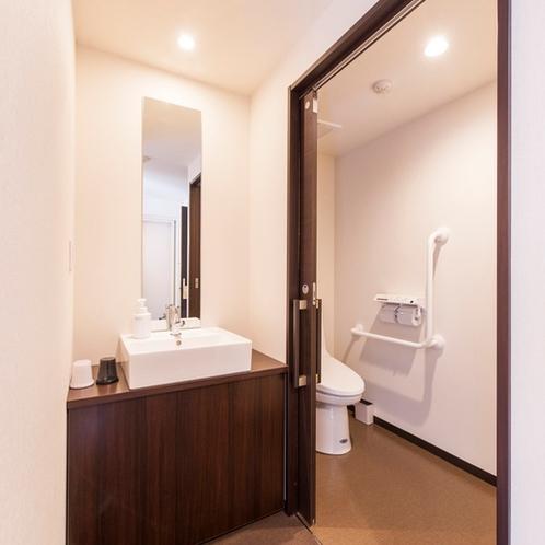 和洋室(スタンダードルーム)トイレ・洗面台