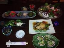 夕食(春)