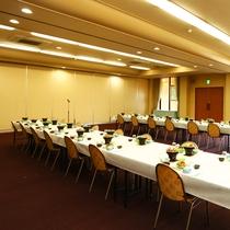 大宴会場【3階】テーブル
