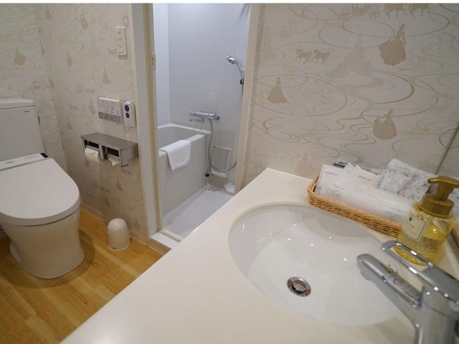 ファミリールームとデラックスツインルームのお風呂