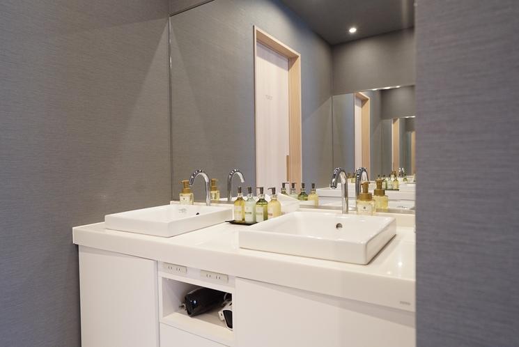 ユニットエリア洗面室