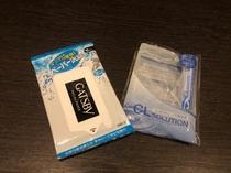 【販売品】コンタクト保存液・汗拭きシート