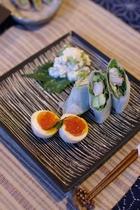 陶の前菜3品