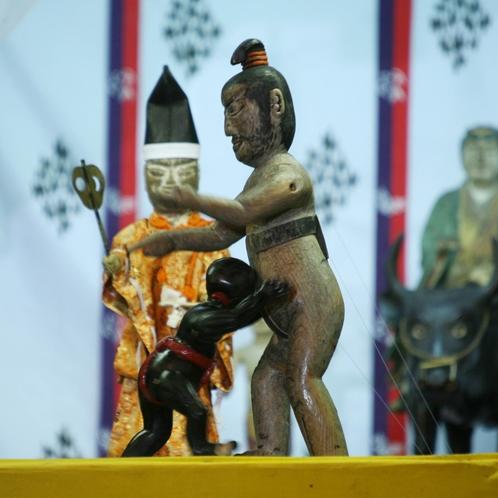 【八幡古表神社】4年に1度開催される神相撲