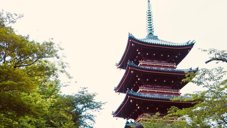 上野公園(旧寛永寺五重塔)
