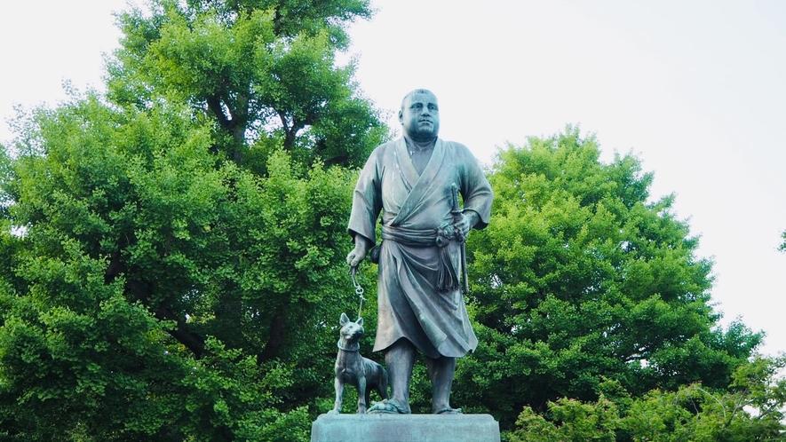西郷隆盛像(上野公園)