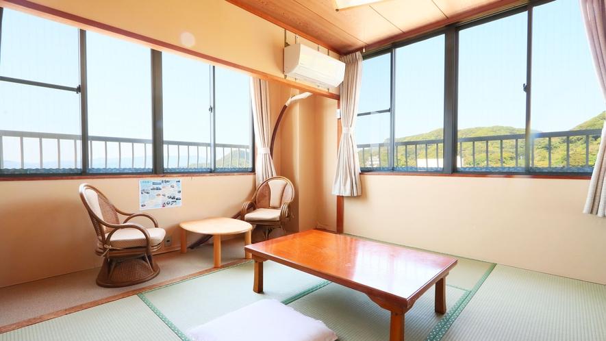 海側6畳◆お部屋からは海が眺められます