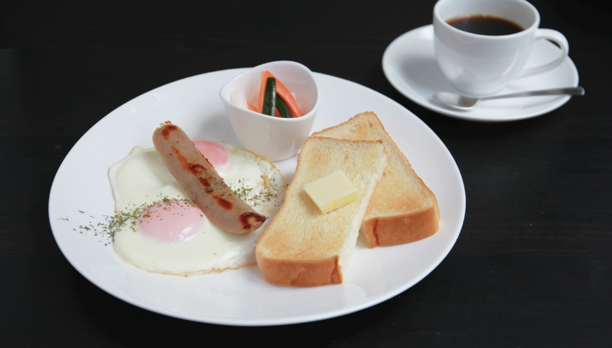 朝食 - 洋食
