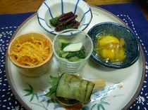 夕食前菜5品