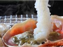 【越前蟹】五感で味わっていただきたい絶品の瞬間!蟹刺しを蟹味噌つけて・・