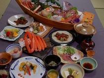 季節のお料理例ー料理自慢の越前の宿ならではの味をたっぷり満喫ください