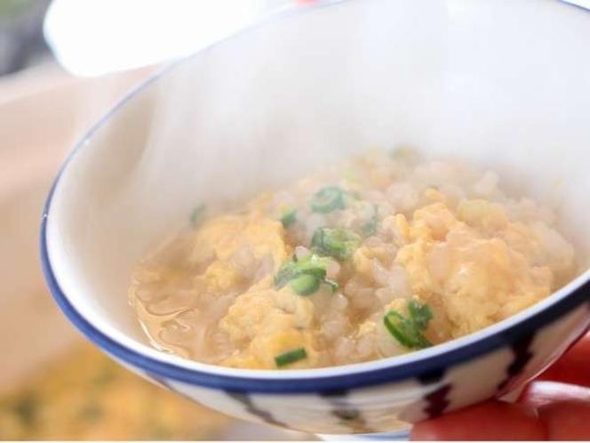 蟹フルコースの〆★かにと野菜のうまみたっぷりかに雑炊