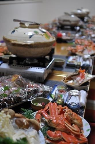 蟹すき宴会