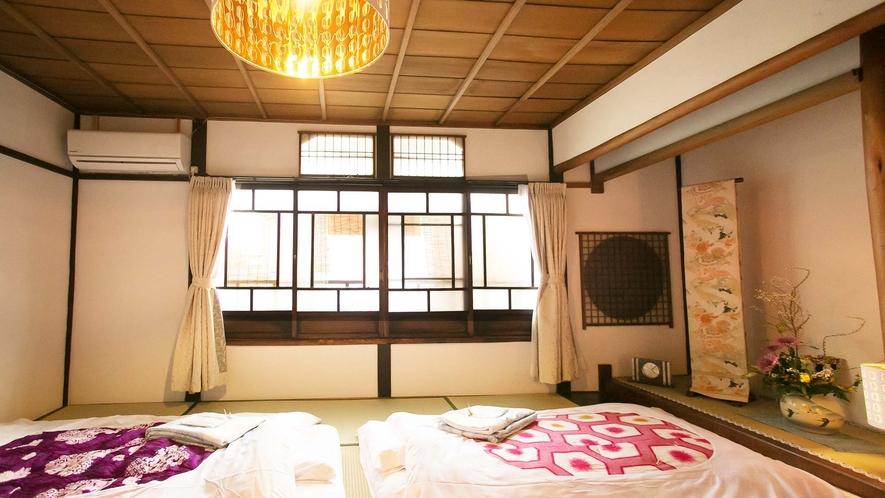 ・【桜】和のインテリアに囲まれた落ち着くお部屋