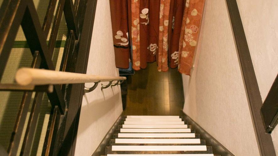 ・階段上からの眺め