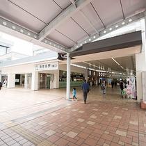 *海老名駅/当ホテルまでは小田急線・相鉄線・JR相模線の海老名駅東口から徒歩約5分です