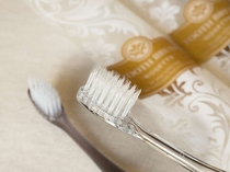 歯ブラシセットもスタイリッシュなデザイン